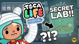 SECRET LAB!! Toca Life: Hospital