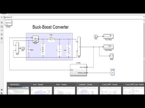 Buck | Boost | Buck-boost | Solar PV | MPPT | Stand-alone PV System | PV Inverter