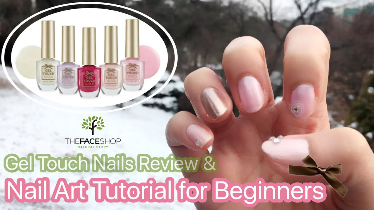 Review & How to] ♡ The Face Shop Gel Touch Nails New Collection ...