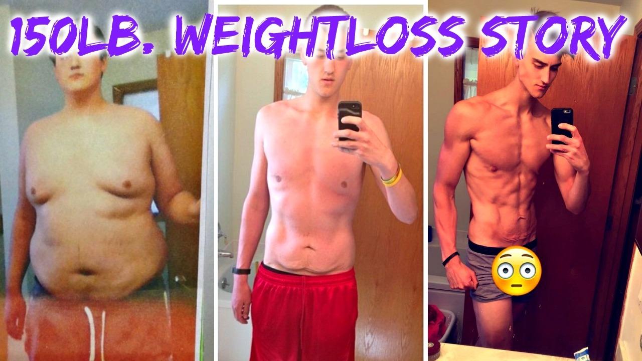 150lb Weightloss Transformation Story