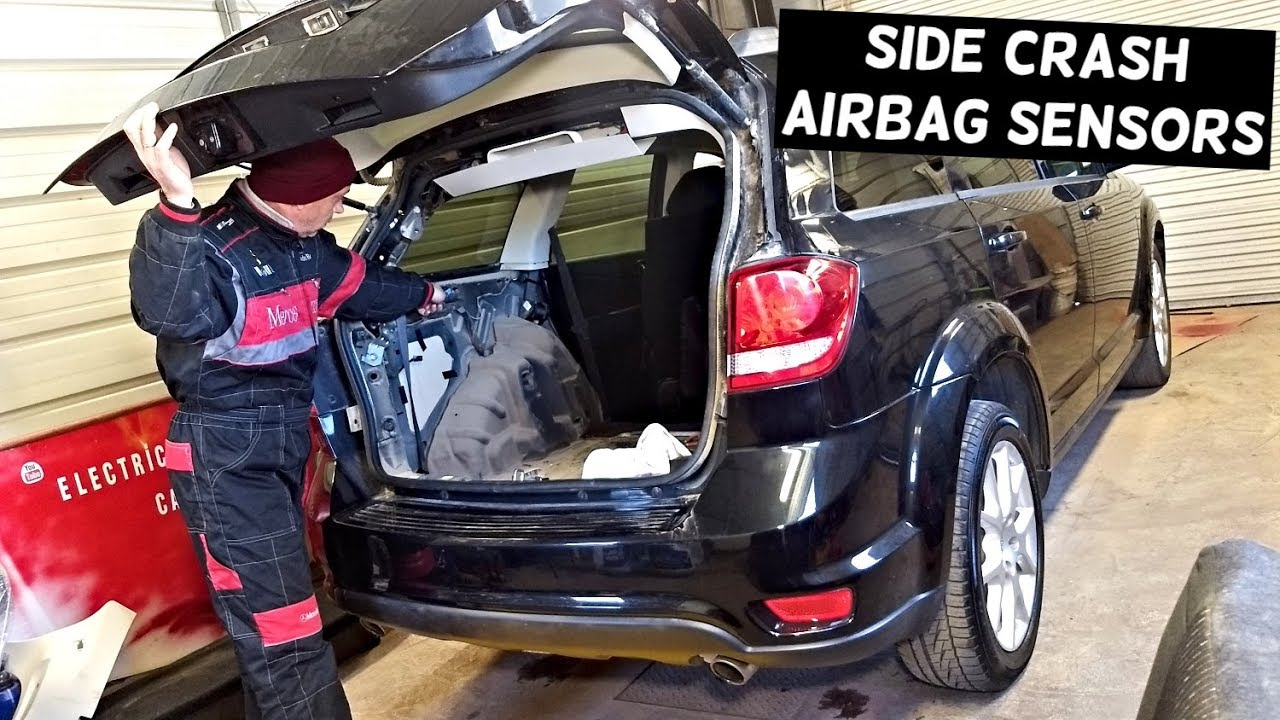 AIRBAG SIDE CRASH IMPACT SENSORS LOCATION DODGE JOURNEY GRAND CARAVAN TOWN  AND COUNTRY