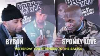 Episode 2 - THE BATTLE & Interview with Byron (Italy) - Back To The Style 2014's Edition