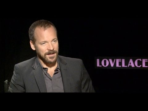 Peter Sarsgaard Talks Sex in Lovelace | Celebrity Interview | POPSUGAR News