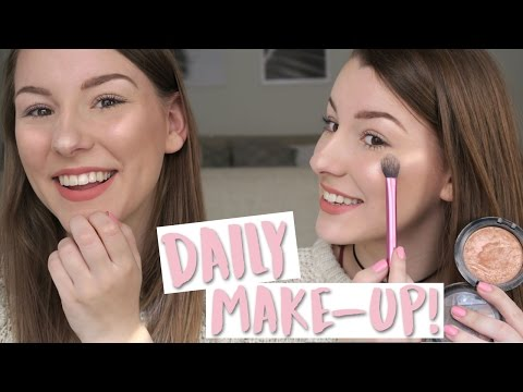 DAGELIJKSE MAKE-UP ROUTINE! - All About Leonie