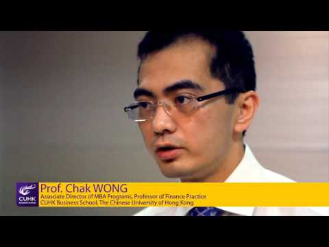 Areas of Excellence: Professor Chak Wong talks about finance study in CUHK MBA Programs