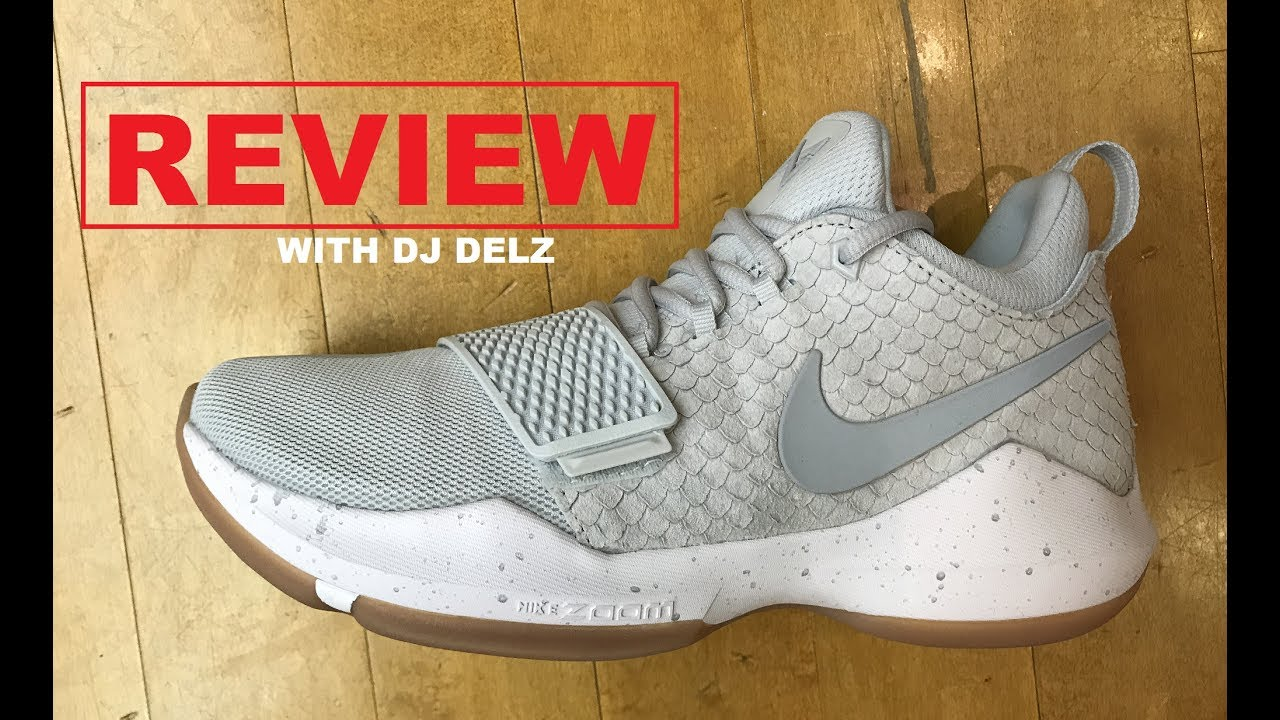Nike PG 1 Pure Platinum Sneaker Review + Compare To Air Yeezy 2