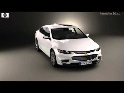 Chevrolet Malibu 2016 by 3D model store Humster3D.com