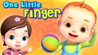 One Little Finger | Learn Body Parts | Educational Songs For Children | Nursery Rhymes & Kids Songs