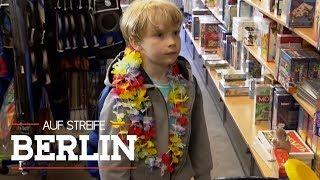 6-Jähriger im Kaufrausch - Mit mehr als 1000 Euro im Gepäck | Auf Streife - Berlin | SAT.1 TV