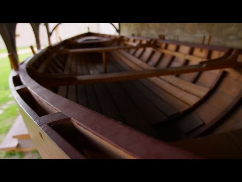 The York Boats of Lower Fort Garry National Historic Site