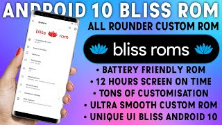Bliss Rom : Android 10 Asus Zenfone Max Pro M1 & Other Phone