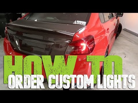 Ordering Custom Lights - The process from Design to Shipping to Warranty