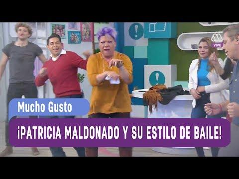 ¡Patricia Maldonado y su estilo de baile! - Mucho Gusto 2017