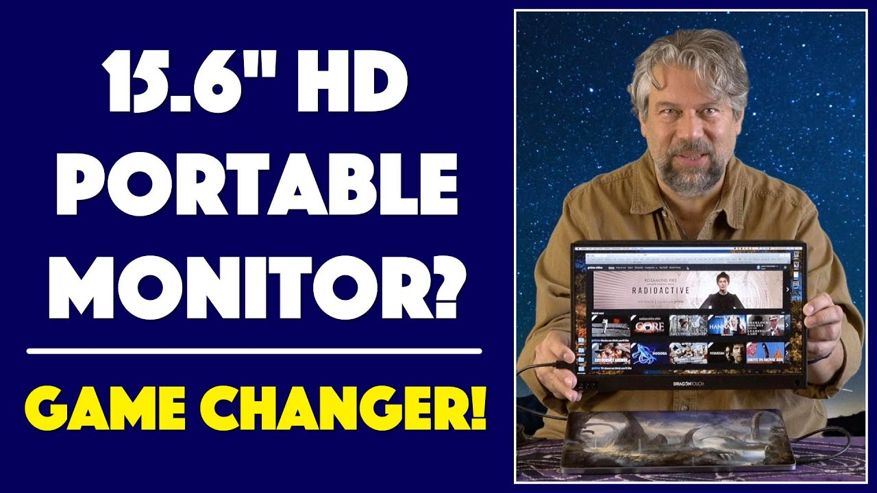 Download Dragon Touch S1 15.6-inch HD Portable Display Monitor -- REVIEW