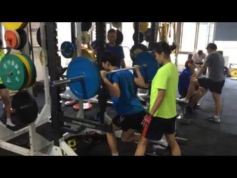 Shanghai W Handball Training