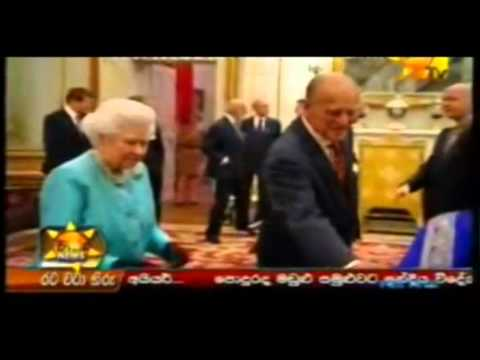 HM the Queen hosted a reception at Buckingham Palace for Commonwealth High Commissioners - HiruTV
