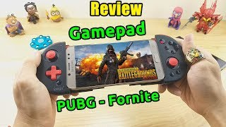 Open the Bluetooth handle box play PUBG, Fortnite, Free Fire. Gamepad Wireless IPEGA PG-9087