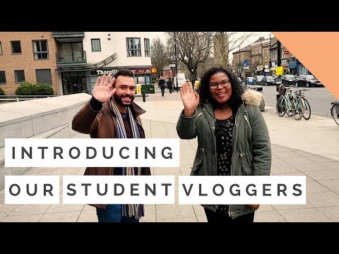 Introducing our student vloggers | University of West London