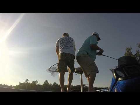 Bass Fishing Lake Gilmer 9-14-15