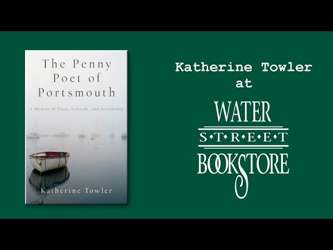 Katherine Towler at Water Street Bookstore
