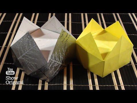 #Оригами: #Корона из бумаги своими руками