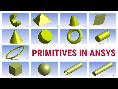 ANSYS Design Modeler Tutorial: Primitives | Types of Primitives and How to Use . thumbnail