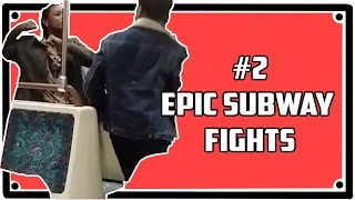 BEST EPIC FIGHTS ON TRAIN #2