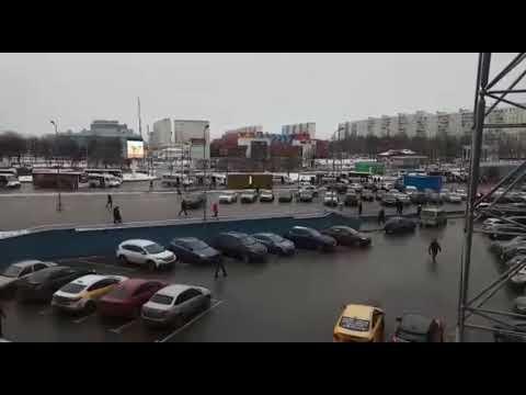 Москва. Станция метро ДОМОДЕДОВСКАЯ и окрестности - ПАВШИНО.