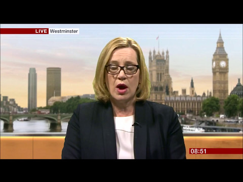 Amber Rudd clueless on IT security and NHS ransomware attack 13 May 2017