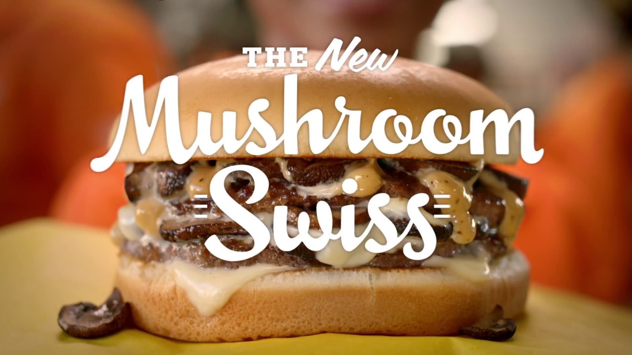 The Mushroom Swiss Burger Youtube