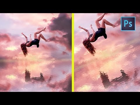 [ Photoshop Manipulation ] How to create WATER REFLECTIONS
