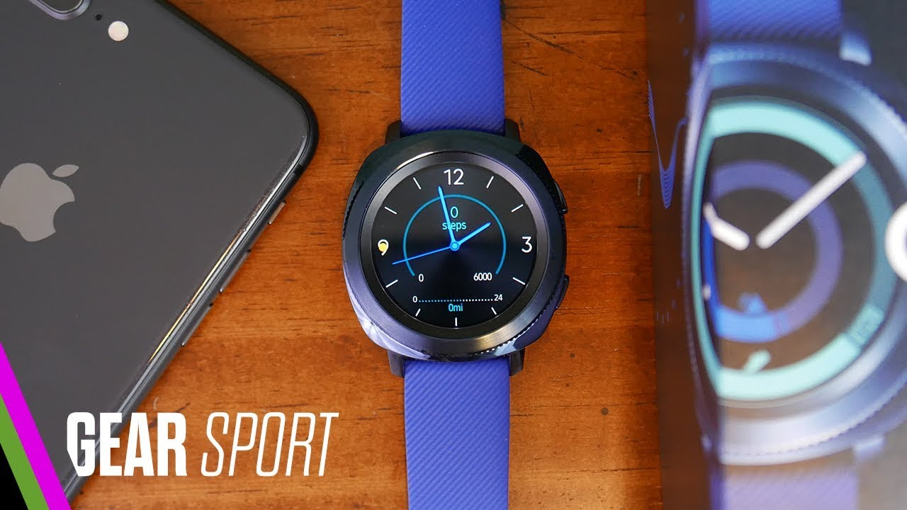 buy online ddbbb fdbc9 Samsung GEAR SPORT Unboxing and iPhone Setup (pre-review)