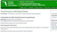 How-To Pay A Duval County, Florida Traffic Ticket