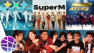 Filipinos React to Kpop VERSU2 #4 (SuperM, TXT, ATEEZ) | EL's Planet mp3