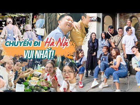 Vlog Hanoi 2: Say quên lối về cùng Team Hà Nội | Châu Giang nè!