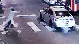 Philly cop shot by ISIS inspired gunman 'in the name of Islam' - TomoNews
