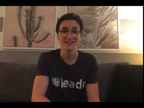 Leadr YC W19 Application Video
