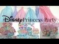 DIY Disney - Disney Princess Party || I Like DIY Projects