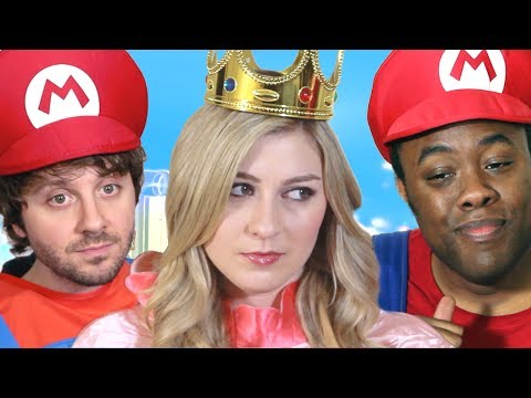 I'M MARIO! (Super Mario 3D World) : Black Nerd Comedy