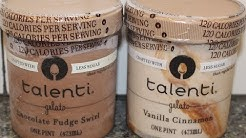 Talenti Gelato: Less Sugar Chocolate Fudge Swirl & Vanilla Cinnamon Review