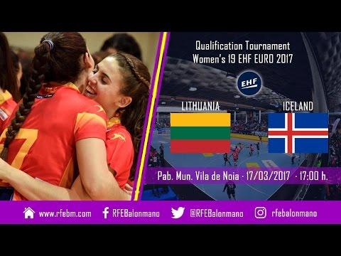 QT Women's 19 EHF EURO 2017  |  Lithuania : Iceland