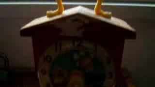 FISHER PRICE - TEACHING CLOCK    taerb03