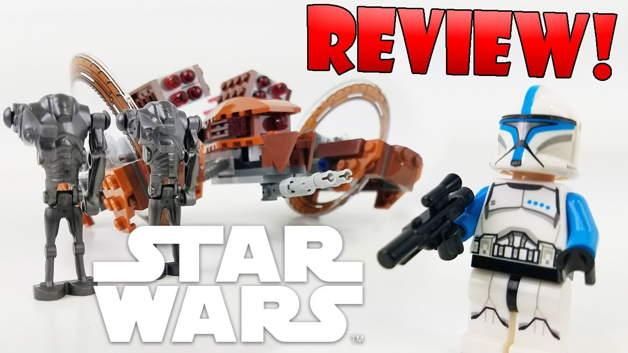 Lego Star Wars Review 75085 Hailfire Droid 2015 Set With Comparison Youtube
