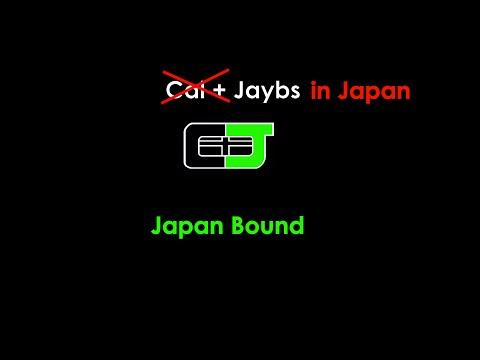 Jaybs in Japan: Japan Bound