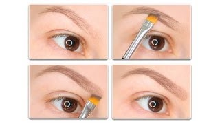 Как нарисовать брови обычными тенями?/How to fill in your eyebrows with eyeshadow?(FOR A LIST OF ALL PRODUCTS USED IN THIS VIDEO: http://olgablik.com/2013/08/26/how-to-fill-in-eyebrows/ ♡ ♡ ♡ BLOG http://olgablik.com/blog/ TWITTER ..., 2013-08-25T20:55:49.000Z)