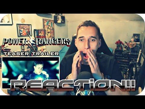 A BEAT UP ANGEL GROVE?| Power Rangers Official teaser trailer  REACTION!!