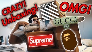 Gambar cover Unboxing Hype: Gucci, Supreme, Bape, Off-White & More!
