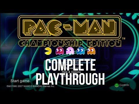 Pac-Man - Championship Edition (Playthrough)