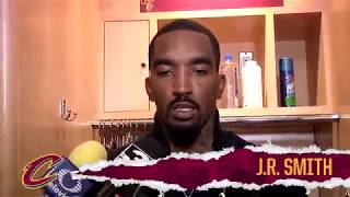 J.R. Smith Postgame Interview | Warriors vs Cavs Finals Game 3 |
