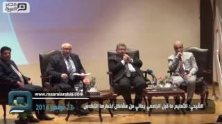 مصر العربية | الشيحي: التعليم ما قبل الجامعي يعانى من مشاكل اخطرها التكدس